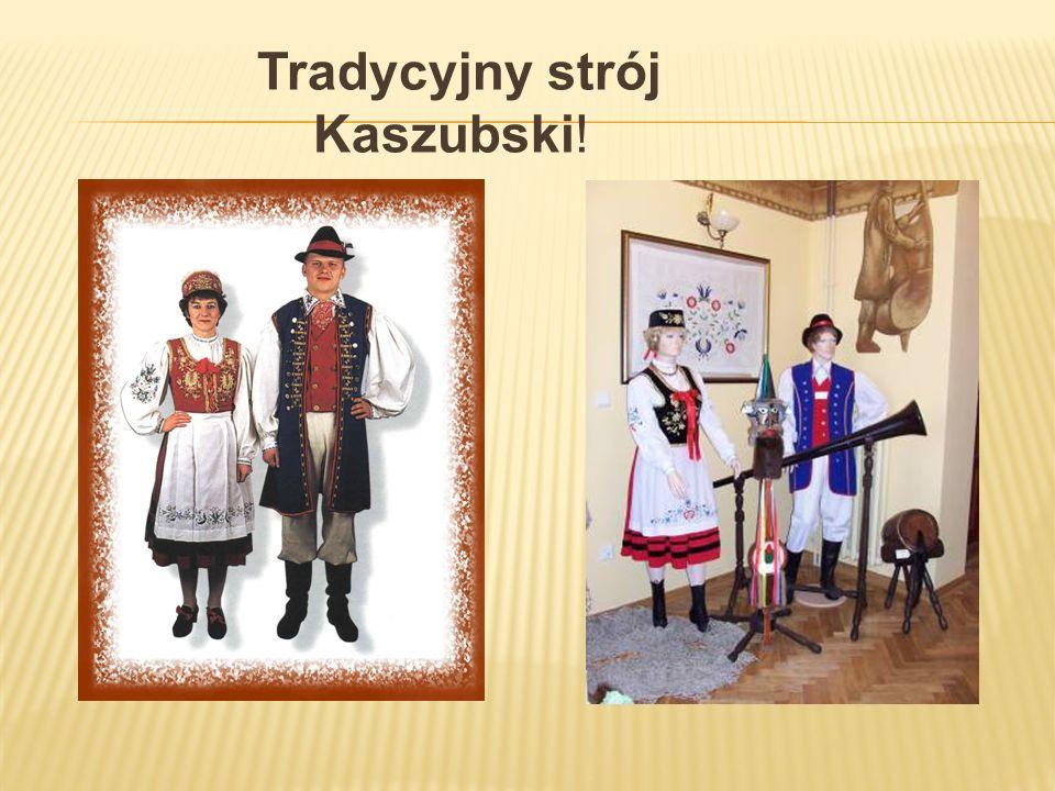 Tradycyjny strój Kaszubski!