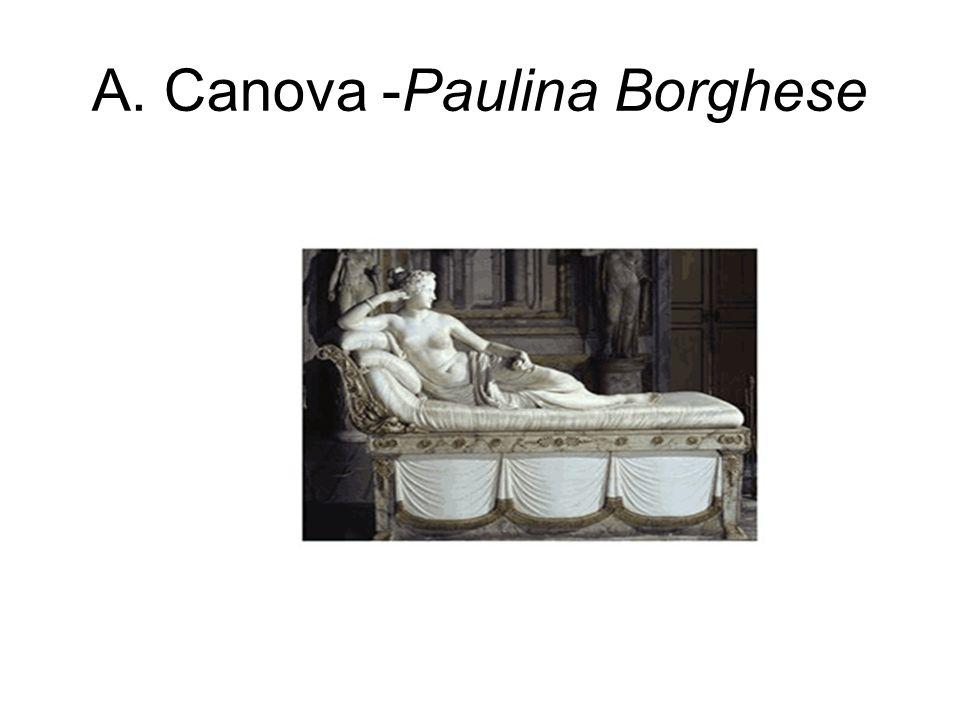 A. Canova -Paulina Borghese