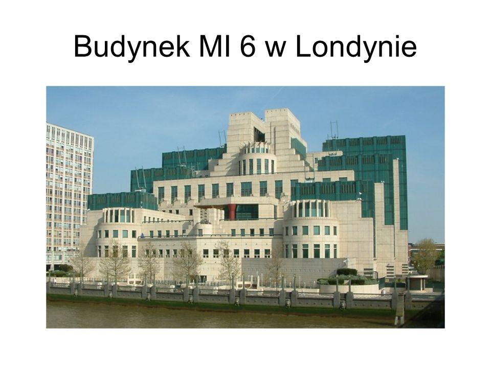 Budynek MI 6 w Londynie