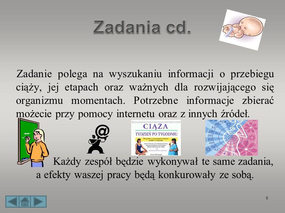 Zadania cd.