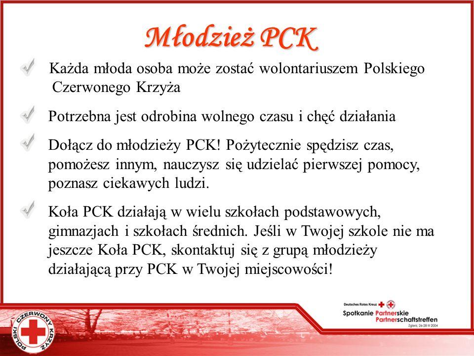 Młodzież PCK Potrzebna jest odrobina wolnego czasu i chęć działania