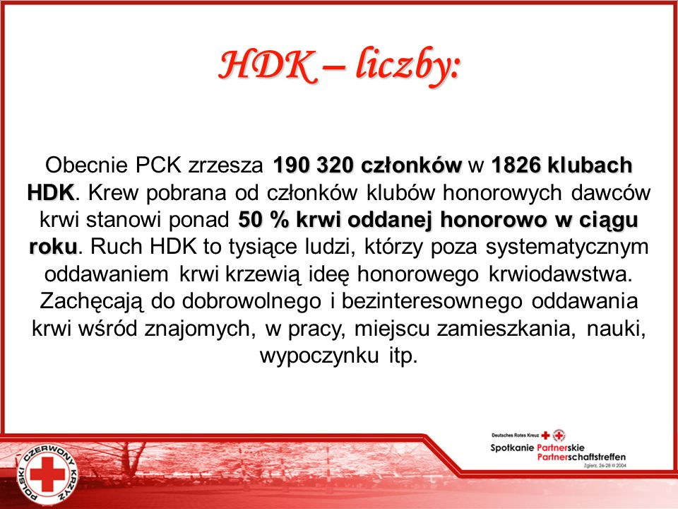 HDK – liczby: