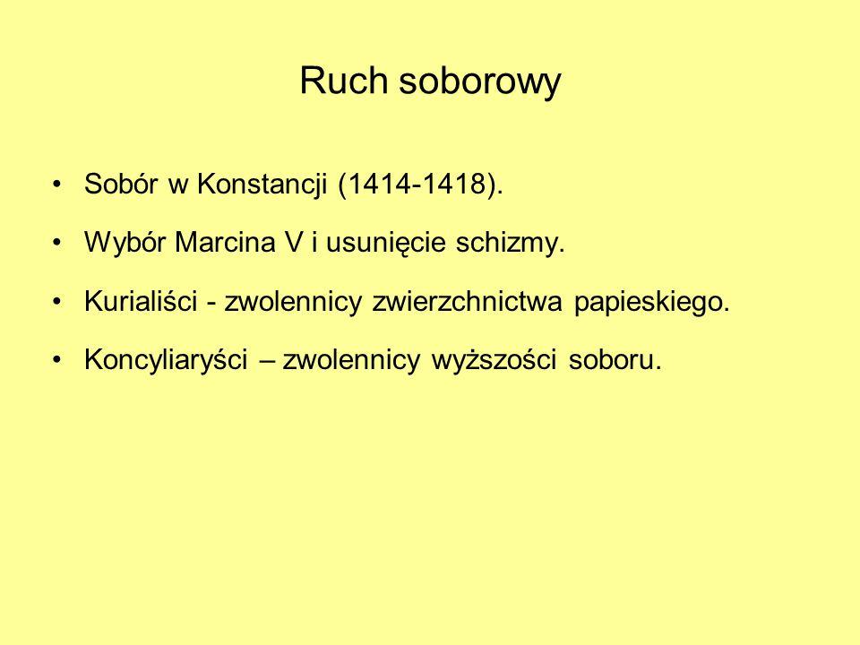 Ruch soborowy Sobór w Konstancji (1414-1418).