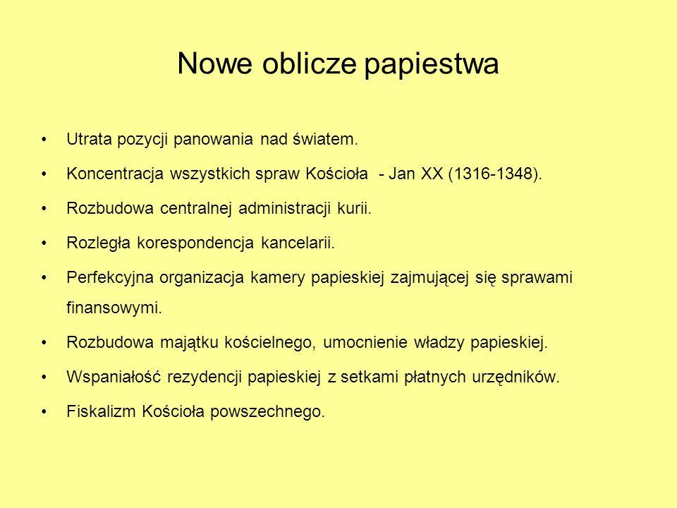 Nowe oblicze papiestwa