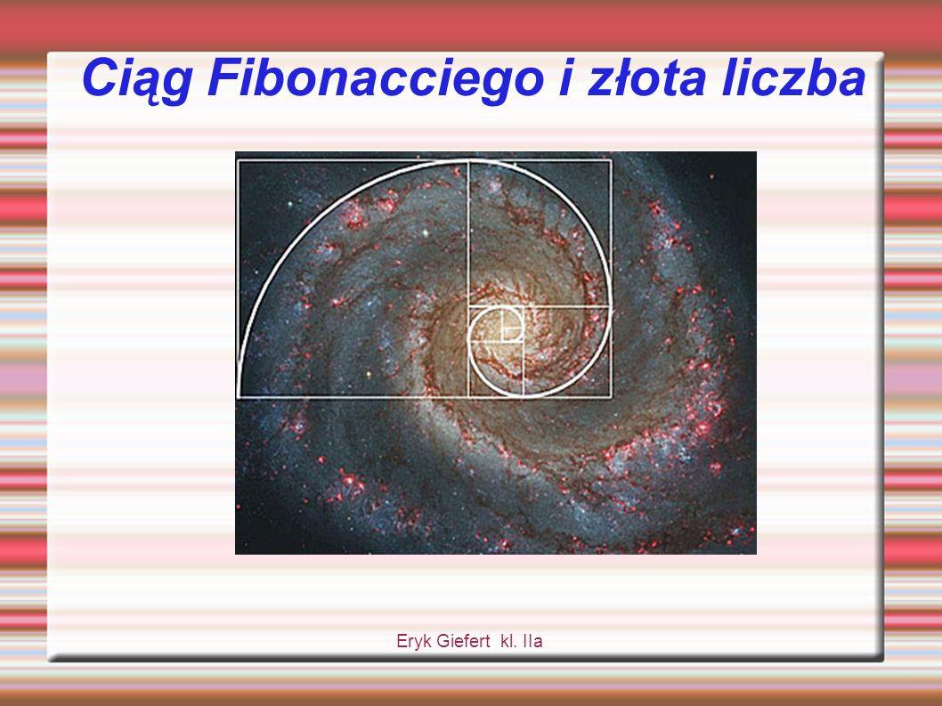 Ciąg Fibonacciego i złota liczba