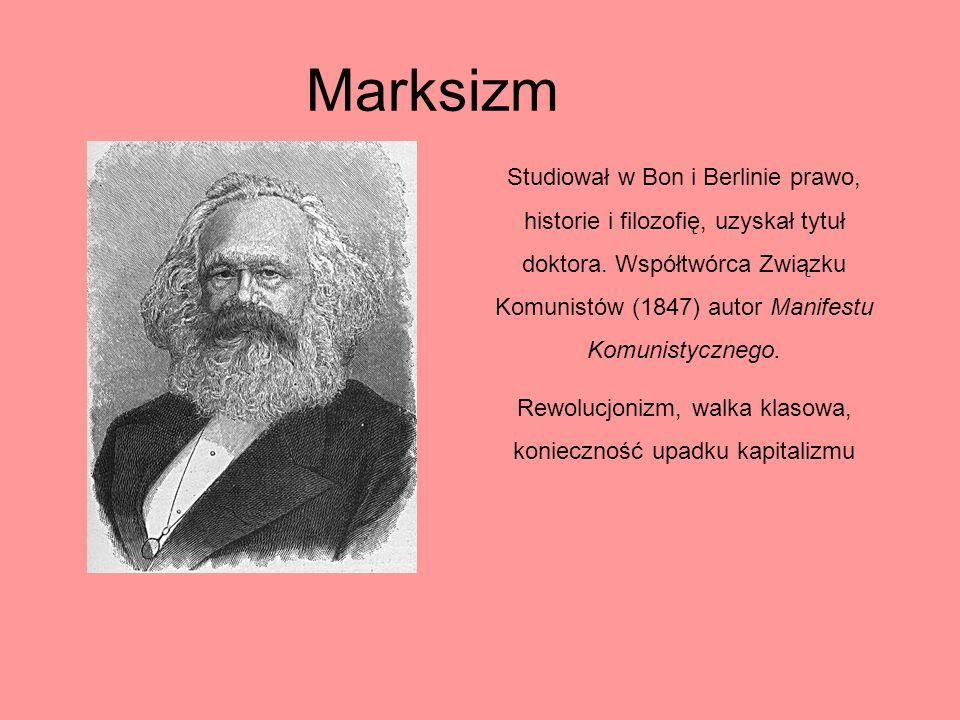Rewolucjonizm, walka klasowa, konieczność upadku kapitalizmu