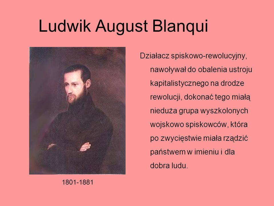 Ludwik August Blanqui