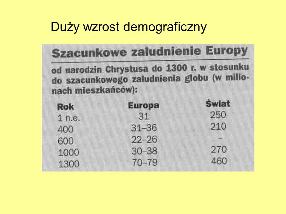 Duży wzrost demograficzny