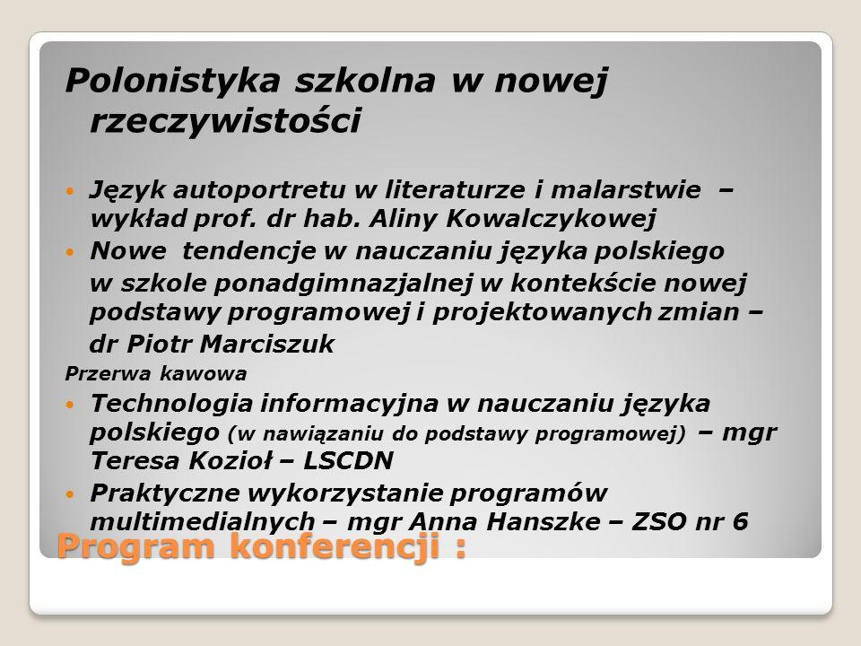 Polonistyka szkolna w nowej rzeczywistości