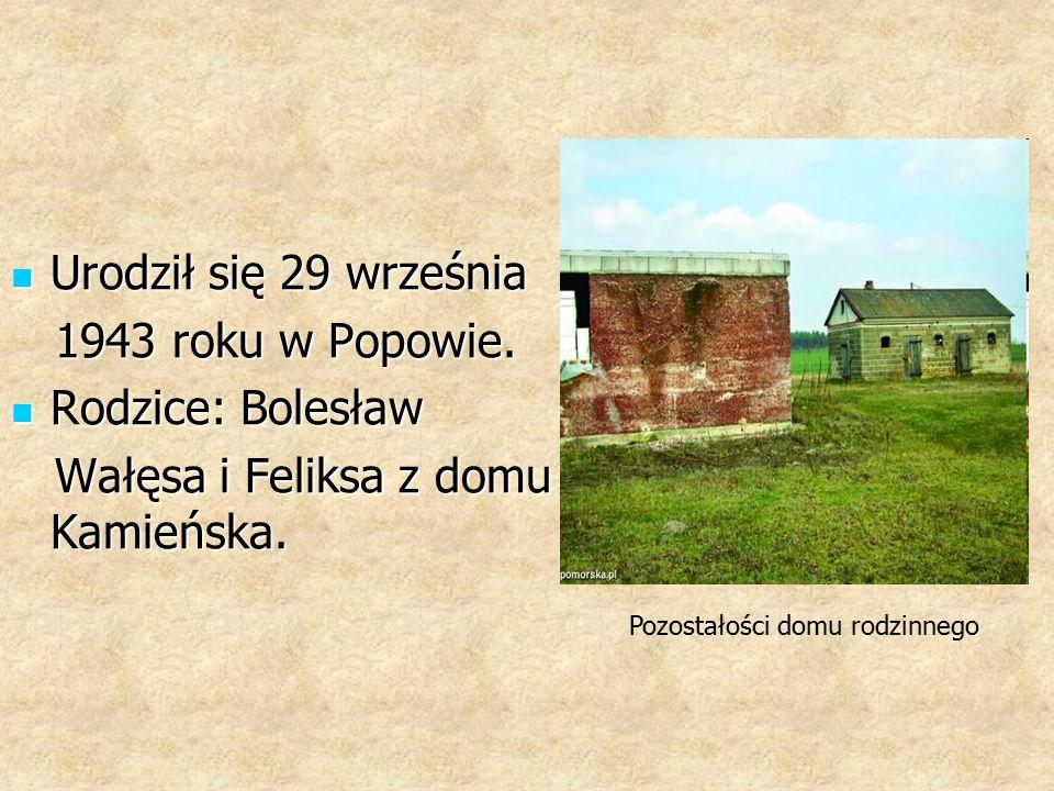 Wałęsa i Feliksa z domu Kamieńska.