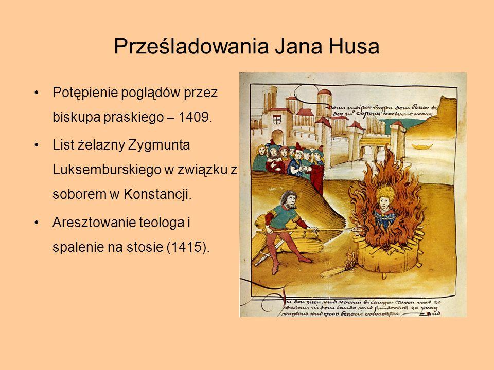 Prześladowania Jana Husa