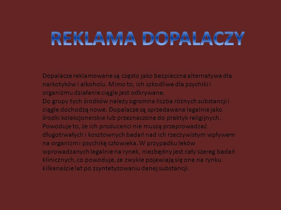 REKLAMA DOPALACZY
