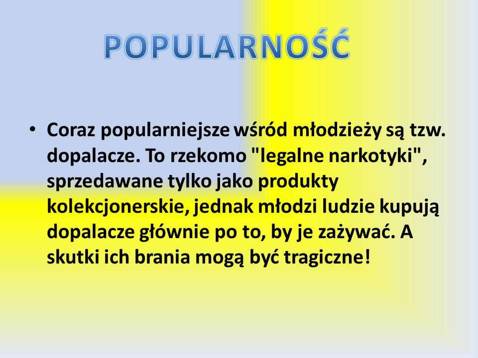 POPULARNOŚĆ