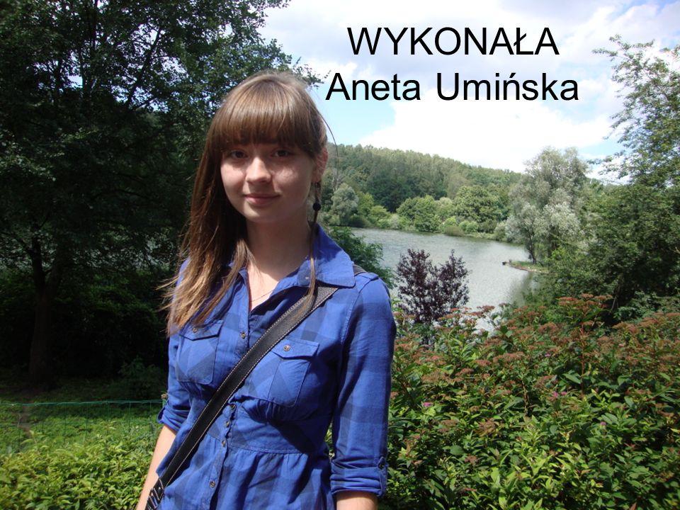WYKONAŁA Aneta Umińska