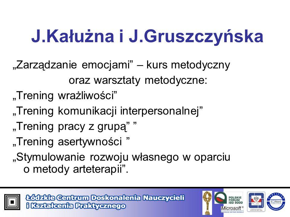 J.Kałużna i J.Gruszczyńska