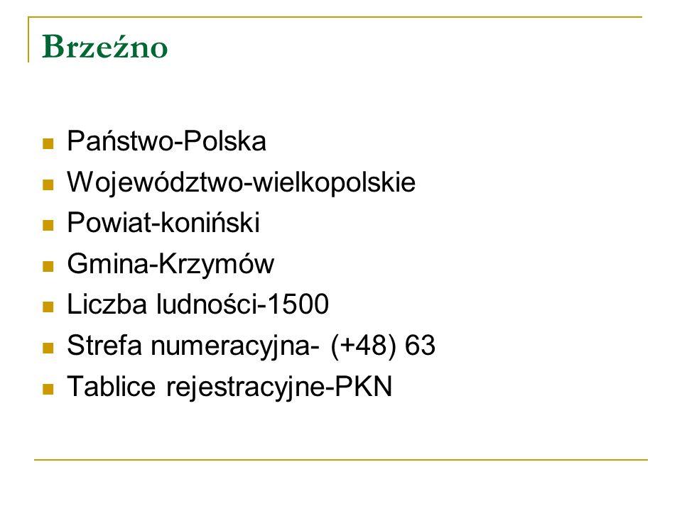Brzeźno Państwo-Polska Województwo-wielkopolskie Powiat-koniński