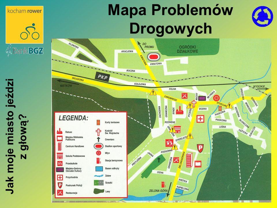 Mapa Problemów Drogowych Jak moje miasto jeździ z głową