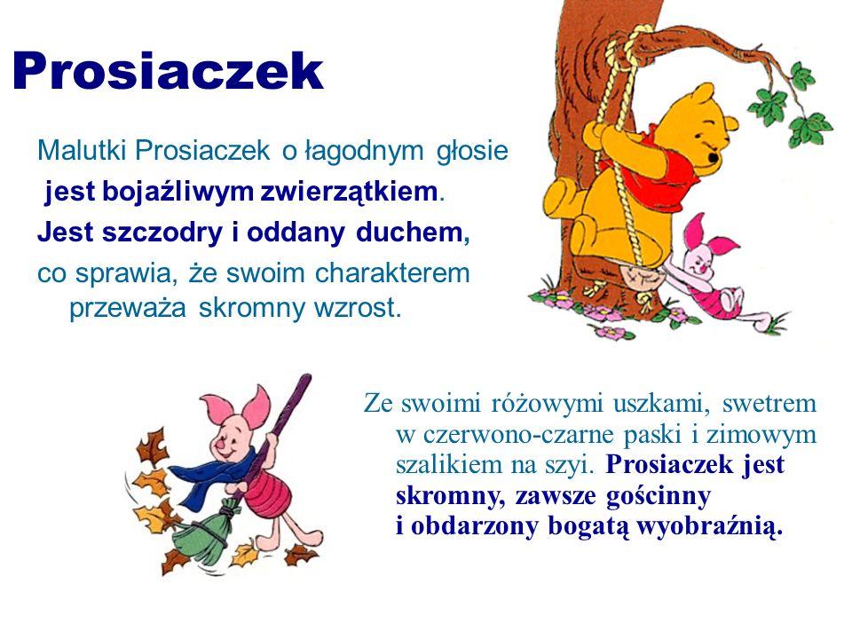 Prosiaczek Malutki Prosiaczek o łagodnym głosie
