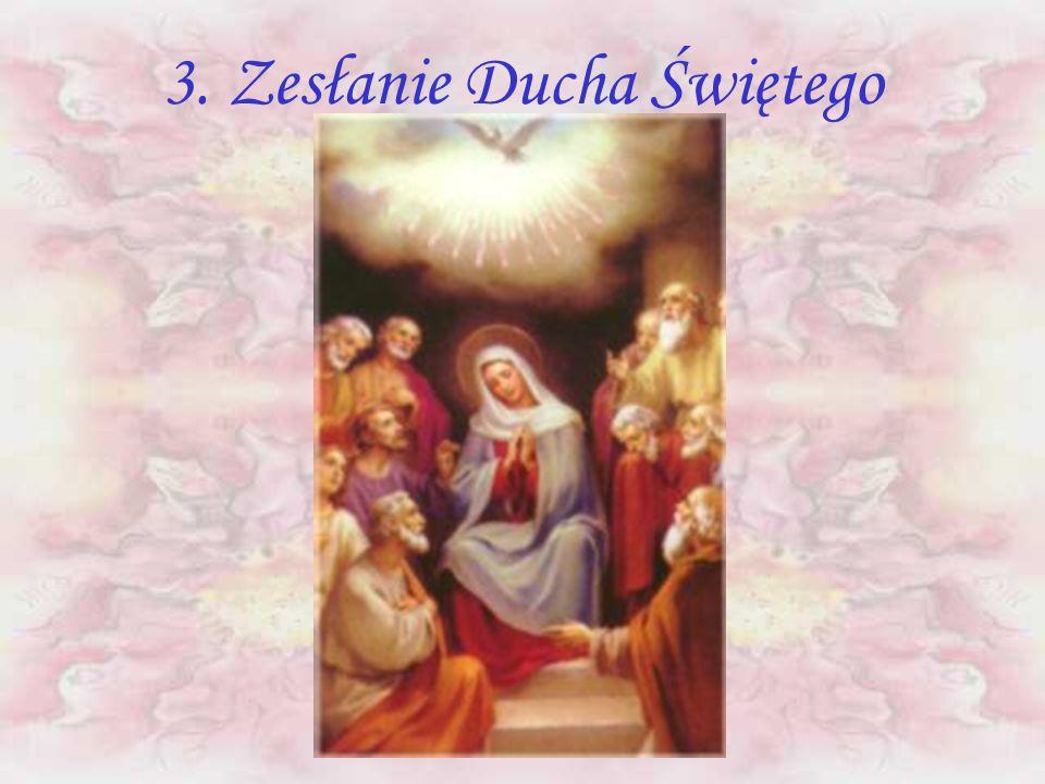 3. Zesłanie Ducha Świętego