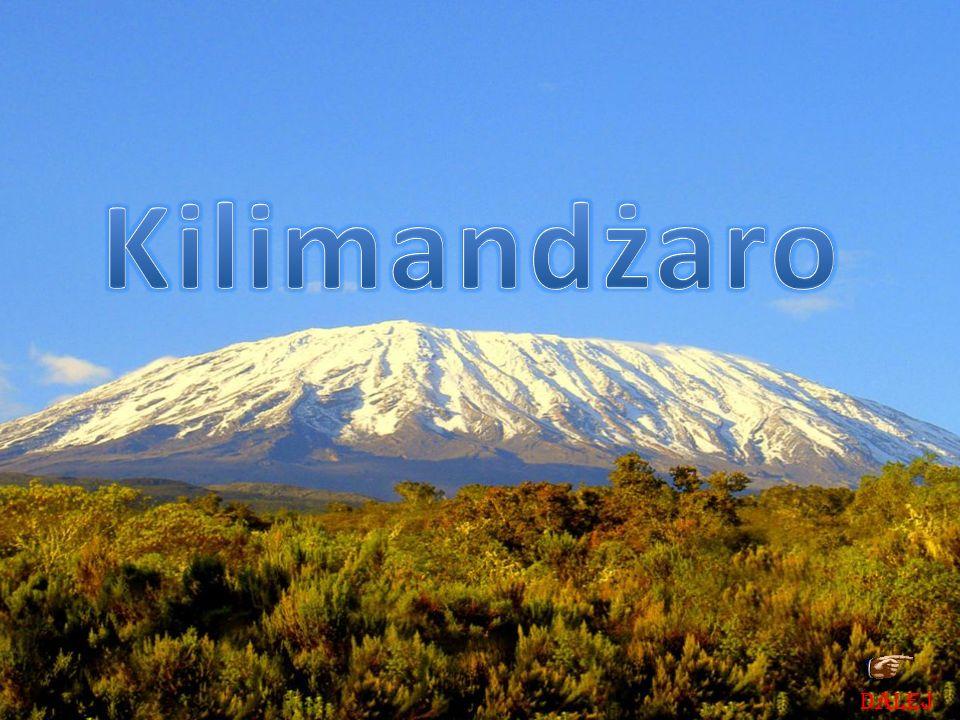 Kilimandżaro DALEJ