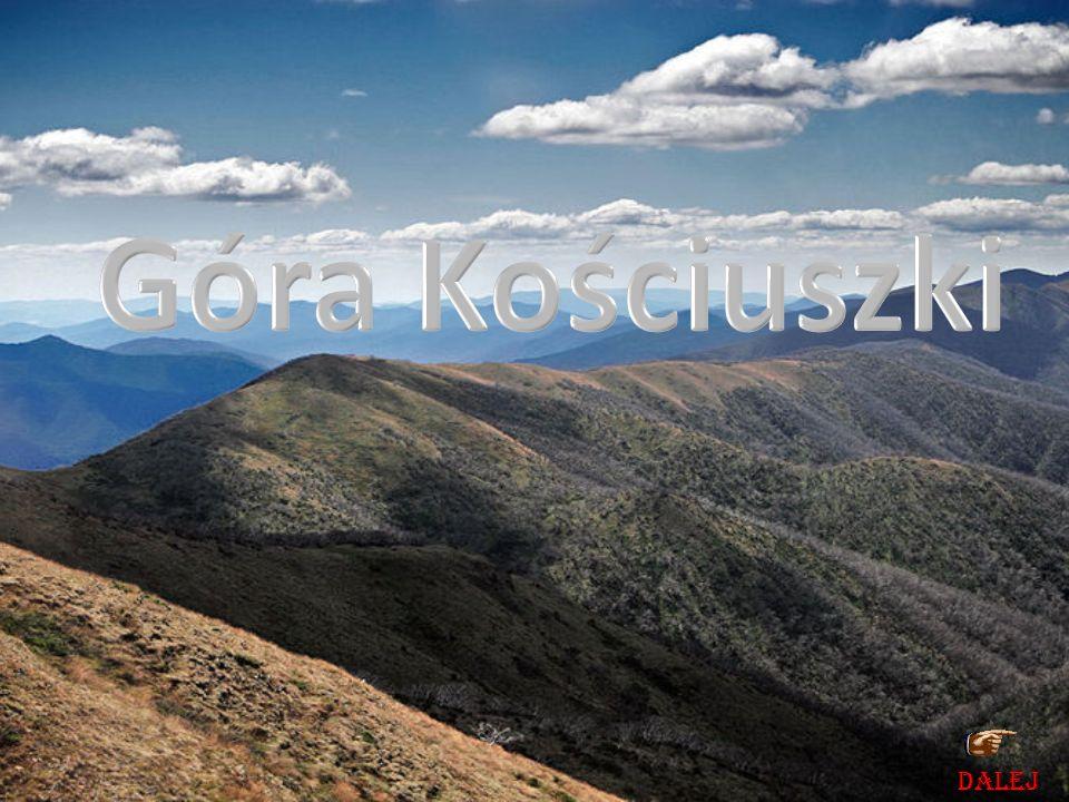 Góra Kościuszki DALEJ