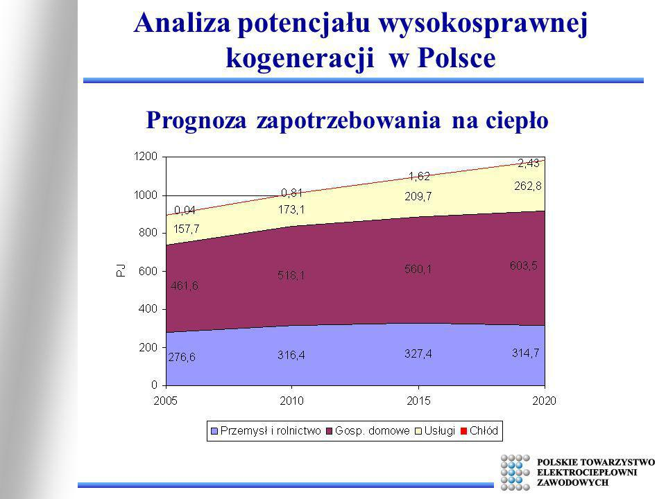 Analiza potencjału wysokosprawnej kogeneracji w Polsce