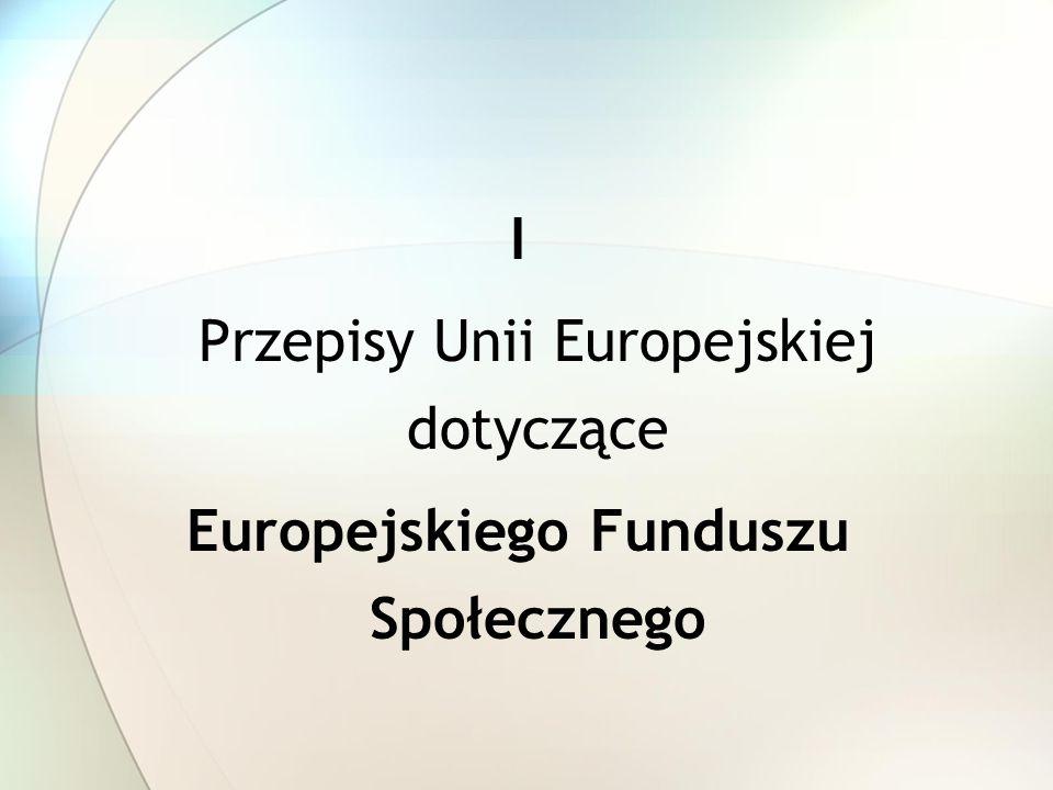 Przepisy Unii Europejskiej dotyczące