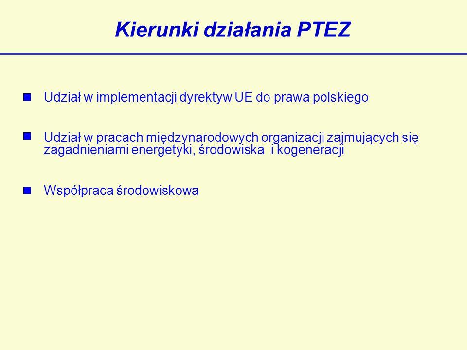 Kierunki działania PTEZ