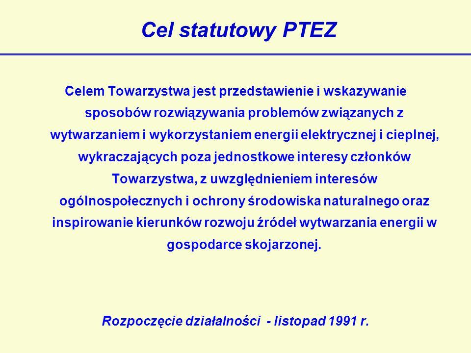 Rozpoczęcie działalności - listopad 1991 r.