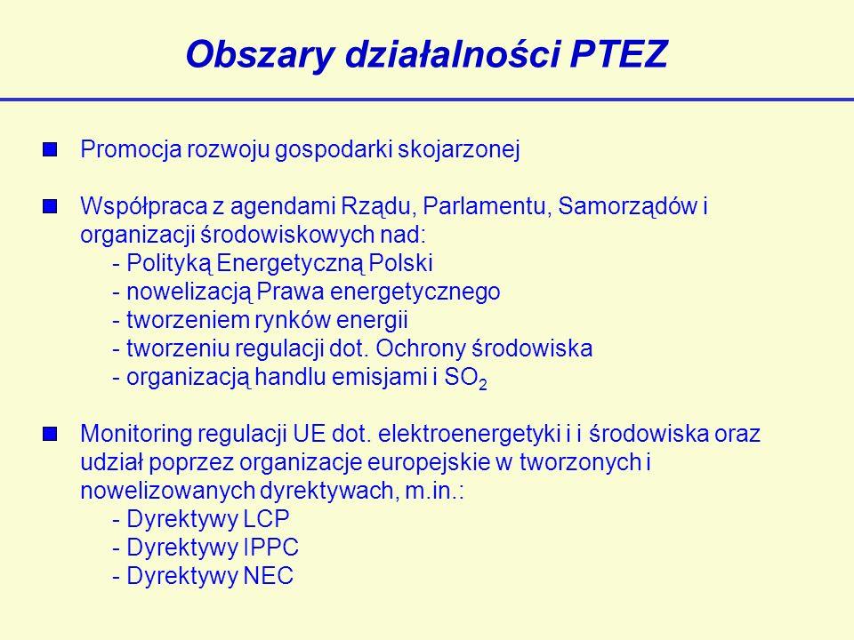 Obszary działalności PTEZ
