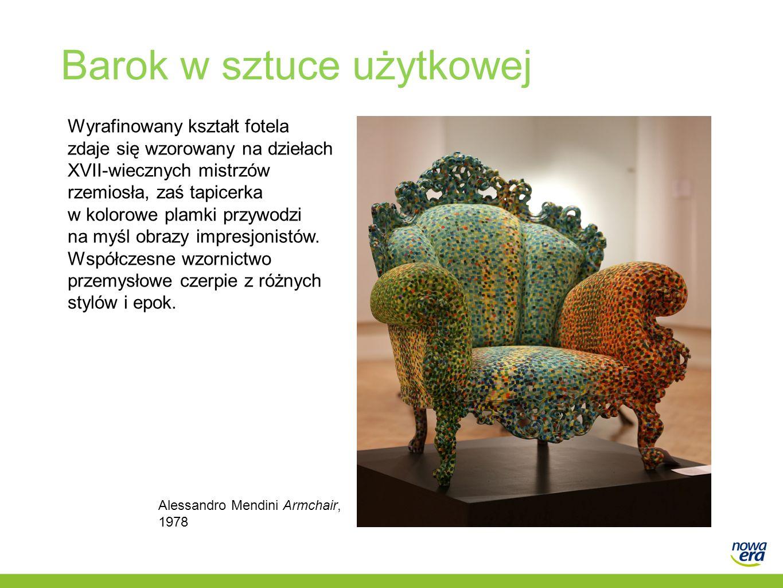 Barok w sztuce użytkowej