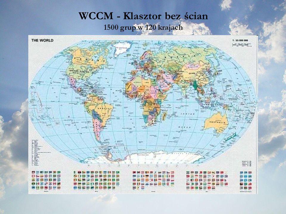 WCCM - Klasztor bez ścian 1500 grup w 120 krajach