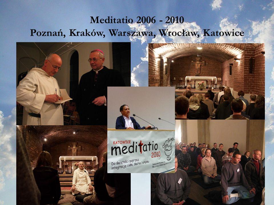 Poznań, Kraków, Warszawa, Wrocław, Katowice