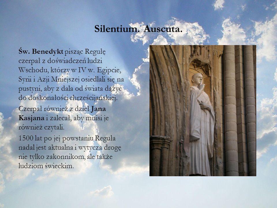 Silentium. Auscuta.