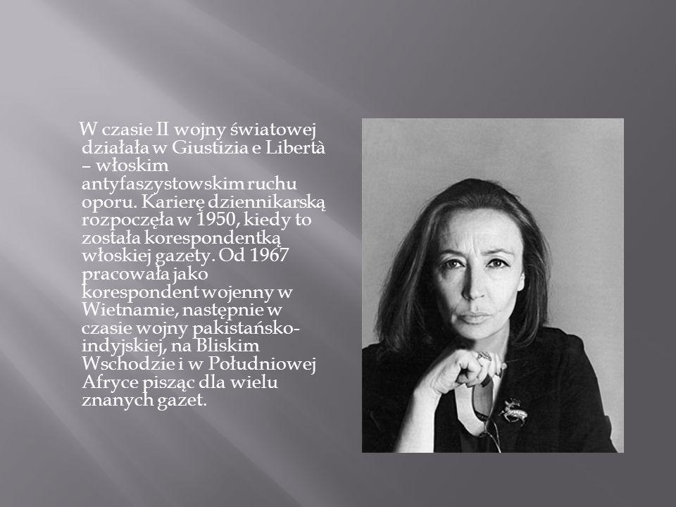 W czasie II wojny światowej działała w Giustizia e Libertà – włoskim antyfaszystowskim ruchu oporu.