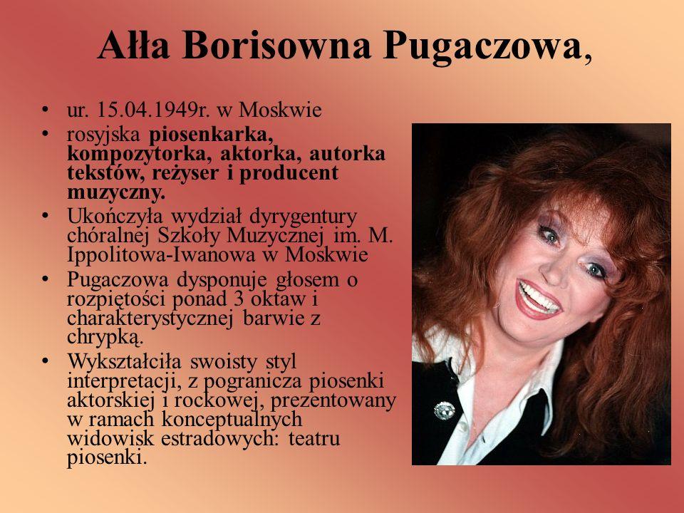 Ałła Borisowna Pugaczowa,