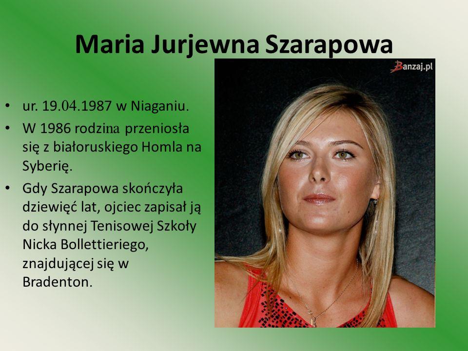 Maria Jurjewna Szarapowa
