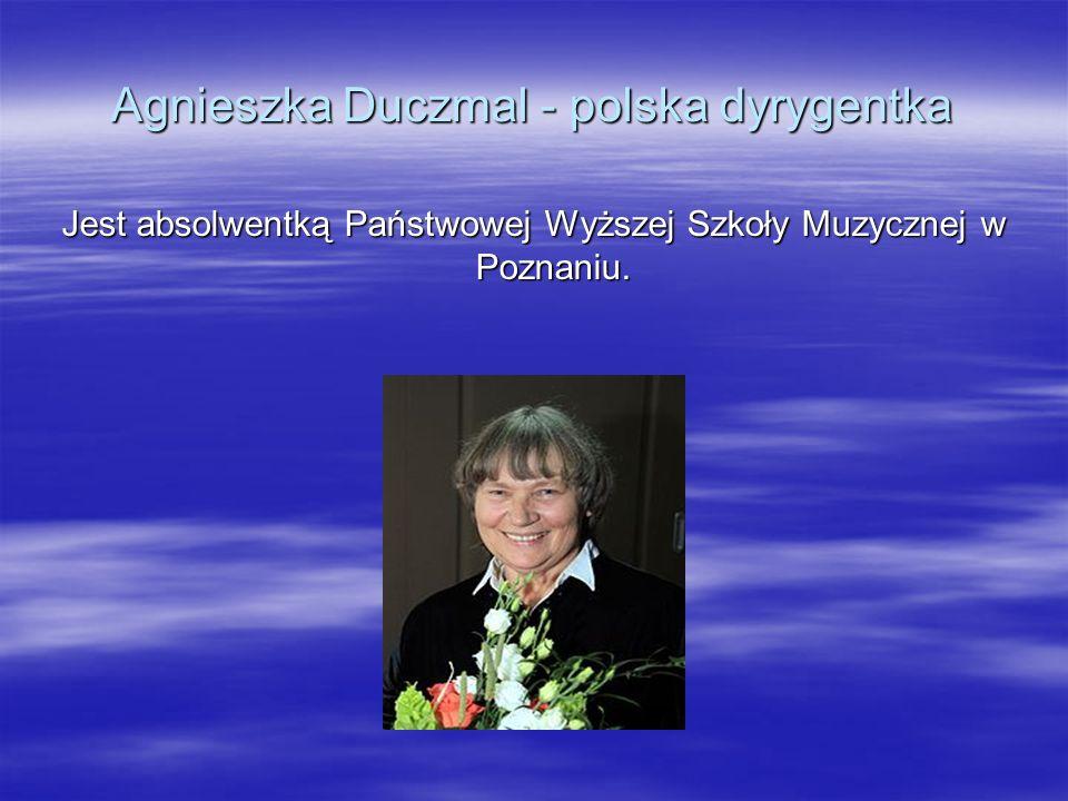 Agnieszka Duczmal - polska dyrygentka