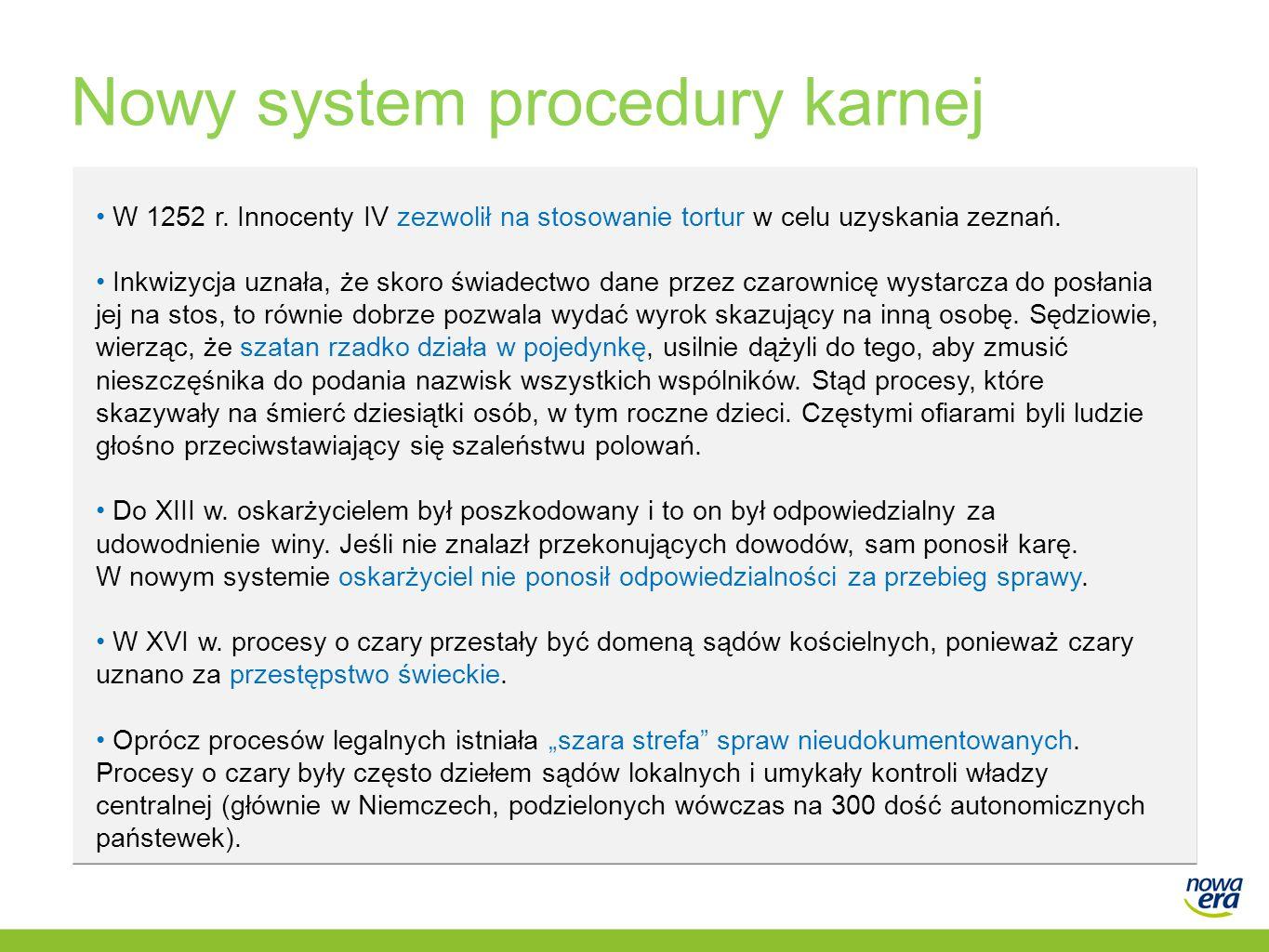 Nowy system procedury karnej