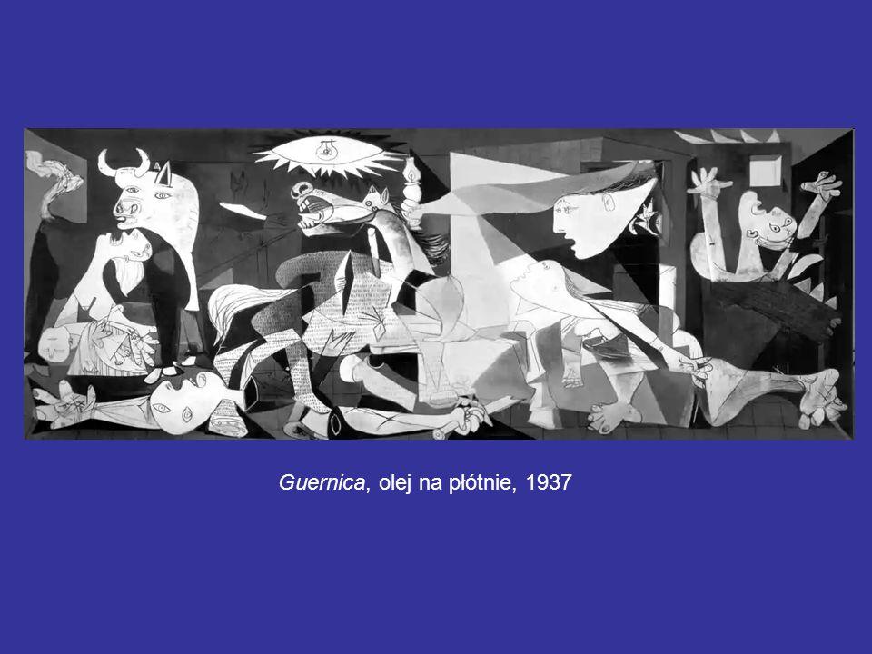 Guernica, olej na płótnie, 1937