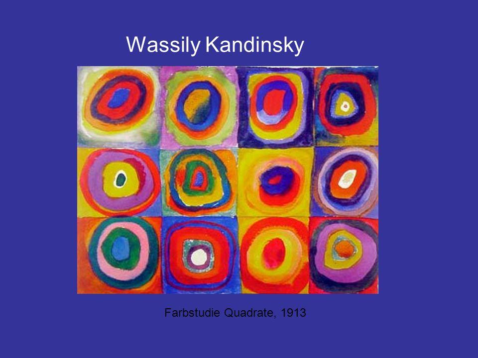 Wassily Kandinsky Farbstudie Quadrate, 1913