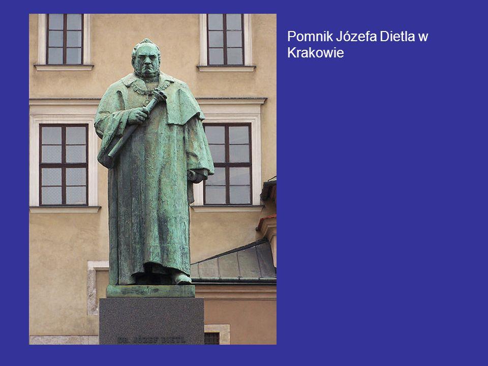 Pomnik Józefa Dietla w Krakowie
