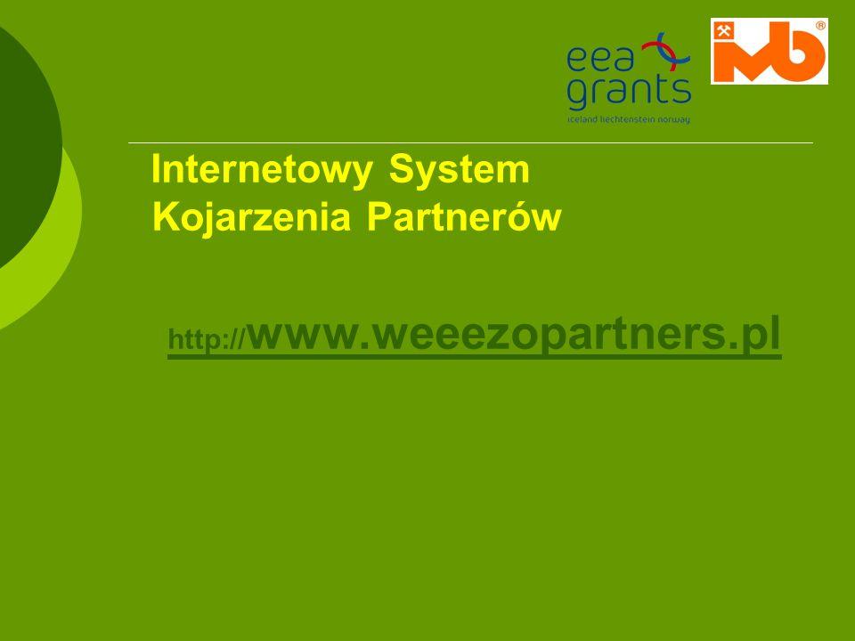Internetowy System Kojarzenia Partnerów http://www.weeezopartners.pl