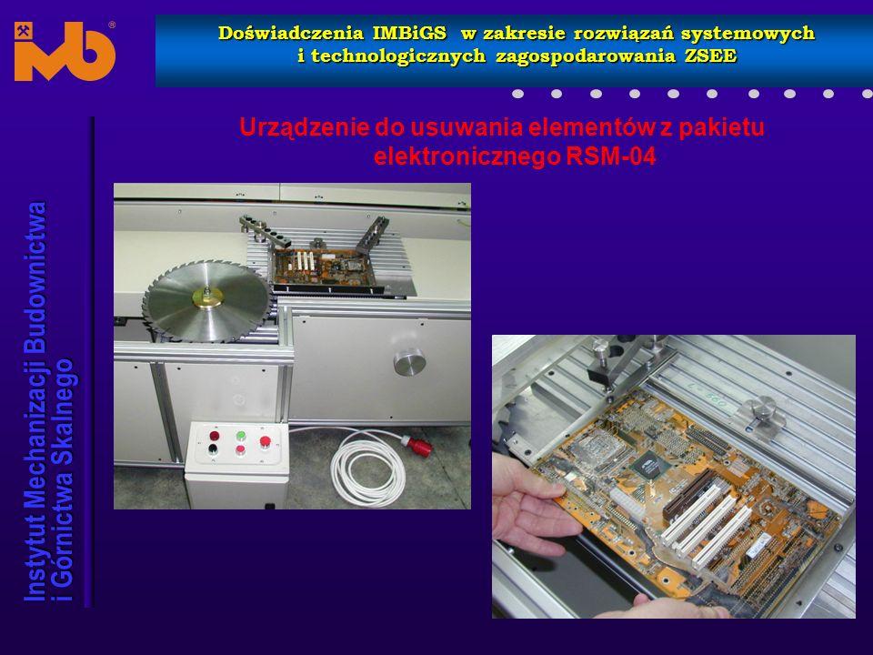 Urządzenie do usuwania elementów z pakietu elektronicznego RSM-04