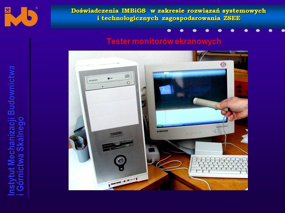Tester monitorów ekranowych