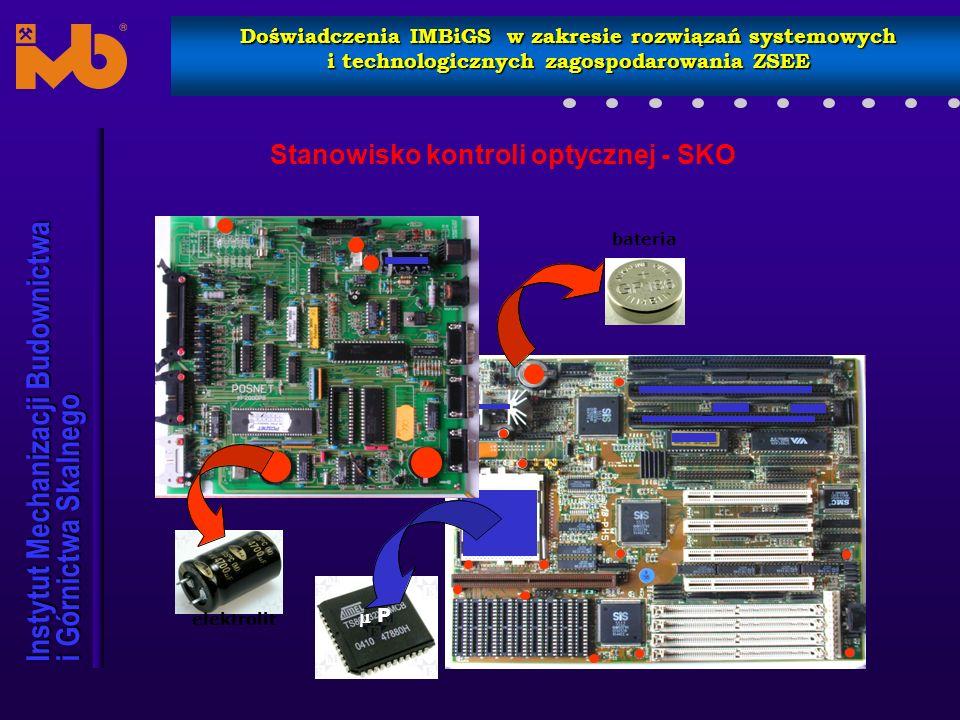Stanowisko kontroli optycznej - SKO