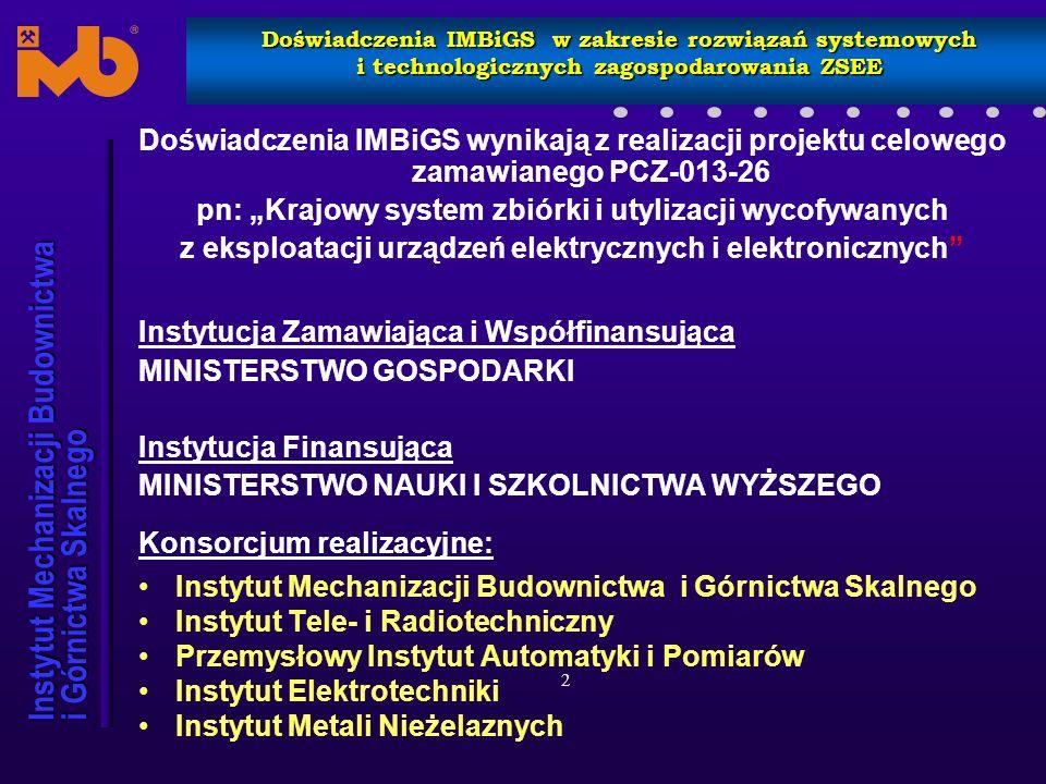 """pn: """"Krajowy system zbiórki i utylizacji wycofywanych"""