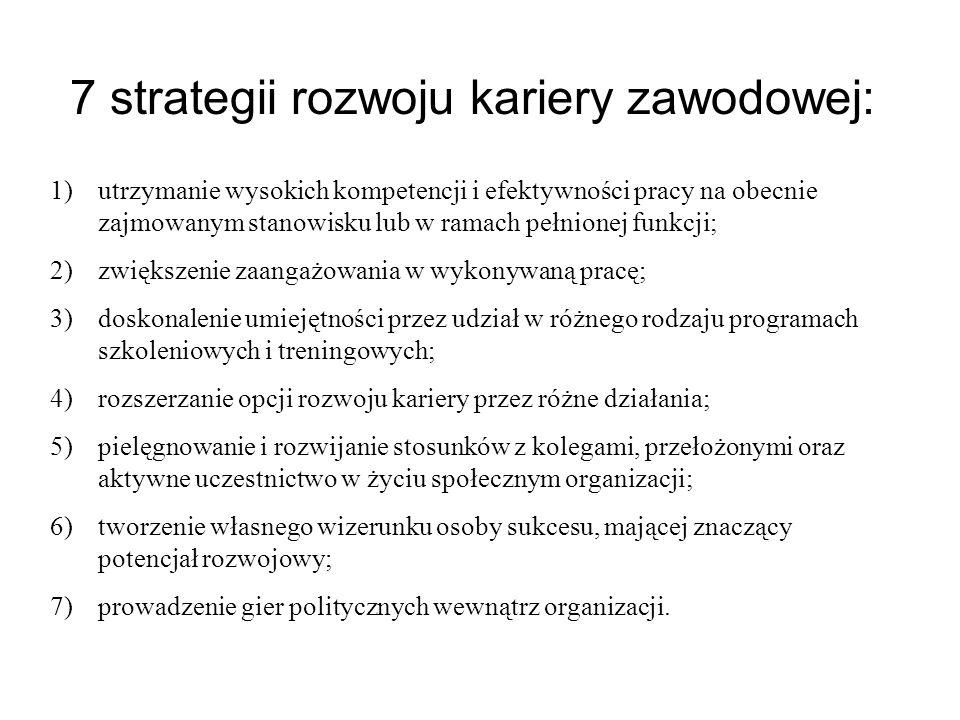 7 strategii rozwoju kariery zawodowej: