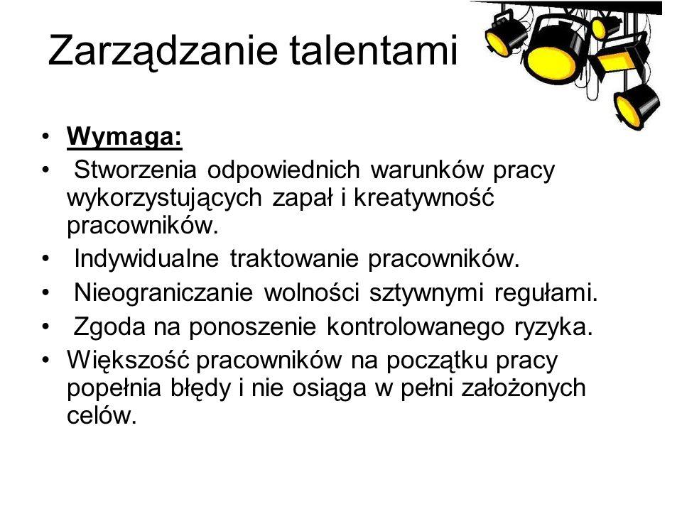 Zarządzanie talentami :