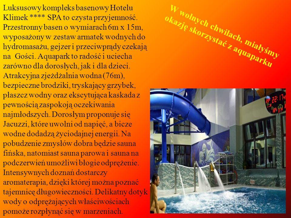 W wolnych chwilach, miałyśmy okazję skorzystać z aquaparku